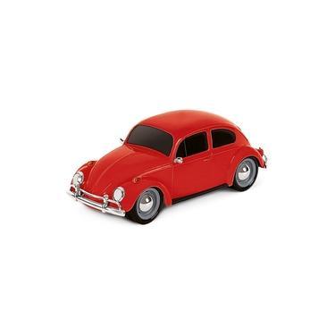 Imagem de Carrinho Brinquedo Super Classic Vermelho Com Pneus Emborrachados