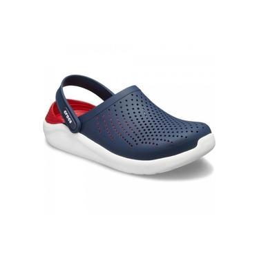 Sandália Crocs Adulto Literide Clog Azul Marinho/Vermelho