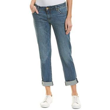 Calça jeans feminina KUT from the Kloth Catarina Boyfriend, Authenticity, 16