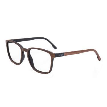 6c102db82be7d Óculos de Grau Mormaii Osaka Wood Unissex M6065J6853 - Acetato Marrom  Madeira