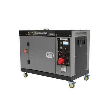 Gerador Energia A Diesel Toyama Tdg8500sle3dxp Elétrica 7.5 Kva 220v