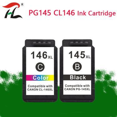 Compatível 145XL 146 XL Cartucho de Substituição para Canon PG 145 para pixma mg2410 PG-145 PG145