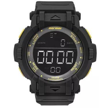 436cd9f197a Relógio Masculino Mormaii MOM08111C 8Y - Preto Amarelo