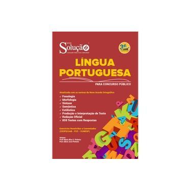 Imagem de Apostila Língua Portuguesa para Concurso Público