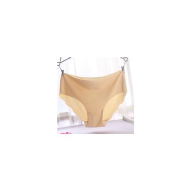 Calcinhas Feminino listrado respirável Briefs Sexy Underwear onda de Borda da Mulher-Newone