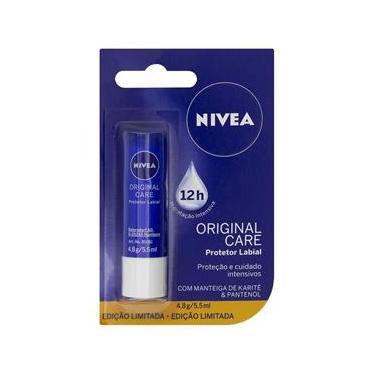 Imagem de Protetor Labial Nivea Lip Care Essential 4,8g