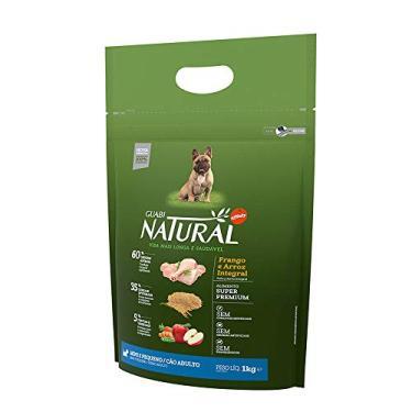 Ração Guabi Natural Raças Pequenas Frango Arroz - 1kg