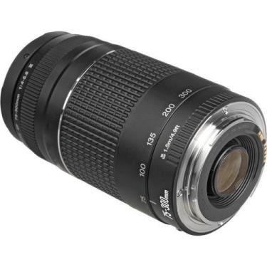 Lente Para Câmera Fotográfica Canon Ef 75-300Mm F/4-5.6 Iii