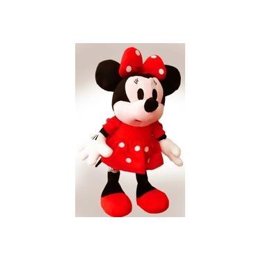 Imagem de 1 Boneca De Pelúcia Minnie Laço Vermelha Tam:50cm