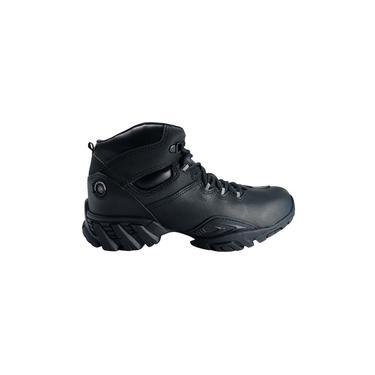 Coturno Masculino Adventure Boot Company Spirit Couro Preto
