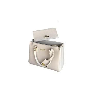 Imagem de Bolsa Off White com Carteira