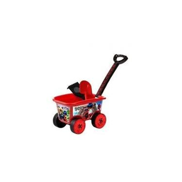 Imagem de Carrinho Wagon Miraculous Ladybug - Multibrink Multibrink brinquedos