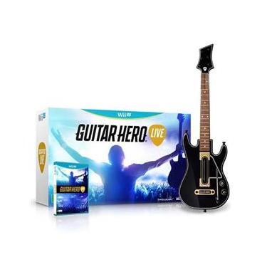 Jogo Guitar Hero Live Bundle - Wii U