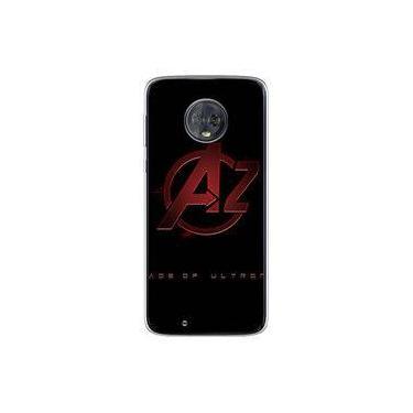 Capa para Moto G6 Plus - The Avengers | Os Vingadores Logo 2