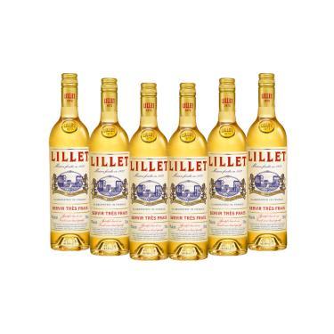 Vinho Composto Branco Lillet - 6 garrafas 750ml