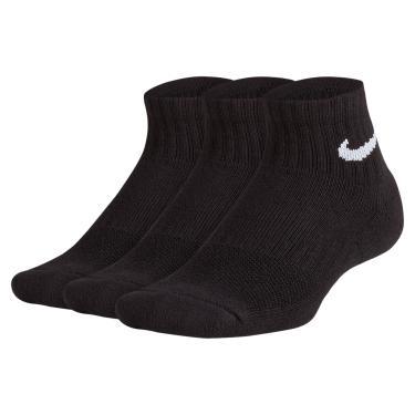 Meia Nike Performance Cushion Cano Médio Infantil (3 pares)