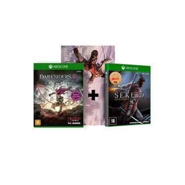 Combo Sekiro Shadows Die Twice + Darksiders 3 ( Day One ) - Xbox One
