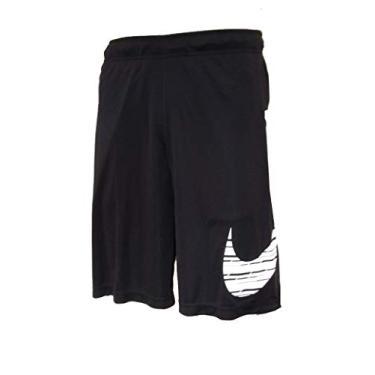 Bermuda Nike Tecido Tecido Mole Tamanho:P;Cor:Preto