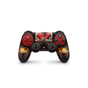 Skin Adesivo para PS4 Controle - Street Fighter V