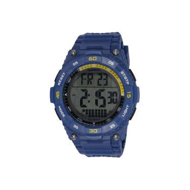 63c03e8c083 Relógio Digital Speedo 80611G0 - Masculino - AZUL Speedo