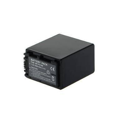 Imagem de Bateria NP-FV100 para câmera digital e filmadora Sony HDR-XR160E, HDR-PJ50VE, DCR-SR77E, DCR-HC85E