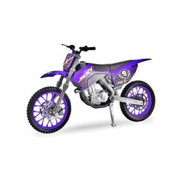 Imagem de Moto Infantil Super Cross Miniatura Menino - Usual 346
