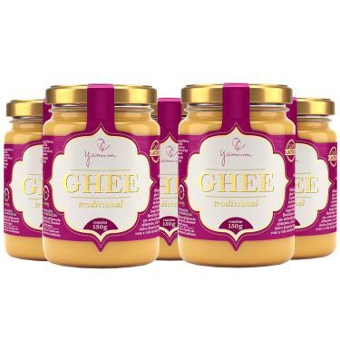 Manteiga Clarificada Ghee Kit com 5 Frascos de 150g