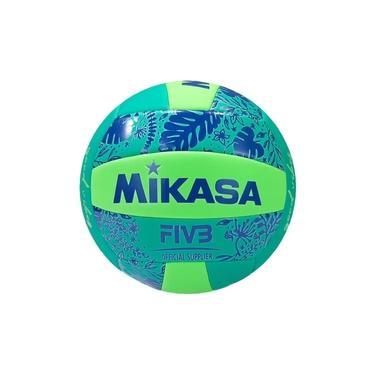 Imagem de Bola de Vôlei de Quadra/Praia Mikasa Good Vibes Verde