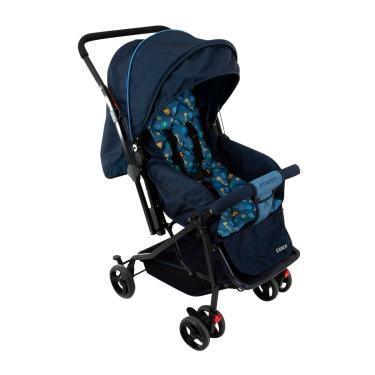 Imagem de Carrinho De Bebê Passeio Cosco 4 Rodas 3 Posições Suporta Crianças De 0 À 15Kg Happy Ls2058-Nbr Azul