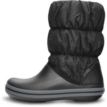 Bota Crocs Winter Puff Boot Women Preta  feminino