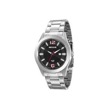 68ef99c8435 Relógio Seculus Masculino Long Life - 20409G0SVNA2