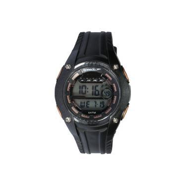 fe6ee89868c Relógio Digital Speedo 81169L0 - Feminino - PRETO Speedo