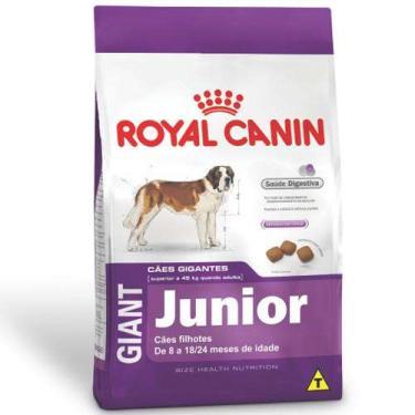 Ração Royal Canin Giant Junior para Filhotes de Cães Gigantes de 8 a 18/24 Meses de Idade - 15 Kg