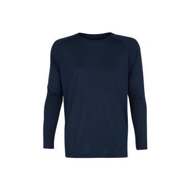 Camiseta Manga Longa Oxer Mescla - Masculina Oxer Masculino