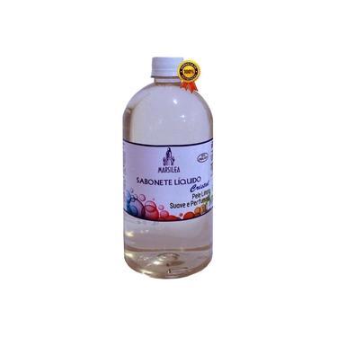Sabonete Líquido Cristal 1 Litro Antisséptico Hidratante Todo Corpo Higienizador De Mãos Suave Perfumado Marsilea