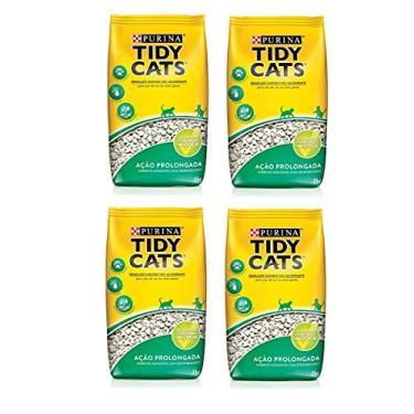 Combo 4un Granulado Higiênico Tidy Cat Purina 2kg cada