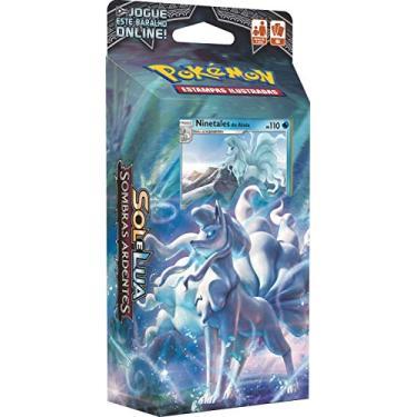 Imagem de Jogo de Cartas Pokémon Deck Sol e Lua 3 Sombras Copag