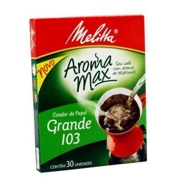 Filtro De Papel 103 Melitta - 30 Unidades 1005603