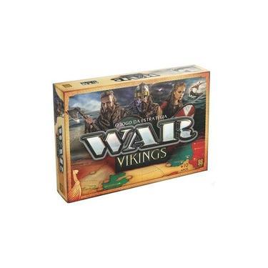 Jogo De Tabuleiro War Vikings O Jogo Da Estratégia - Grow