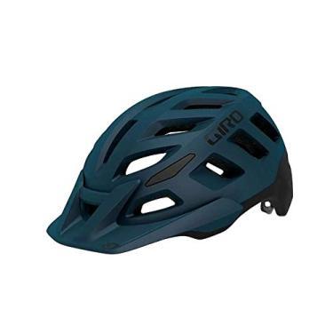 Imagem de Capacete Ciclismo Bike Giro Radix Original Viseira Sem Mips Azul Escuro M