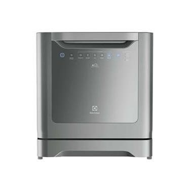 Lava-Louças Le08S 6 Programas Painel Blue Touch Inox - Electrolux