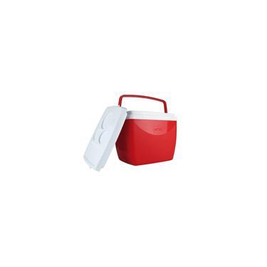 Imagem de Caixa Termica 18 Litros com Alca Vermelha
