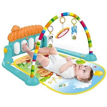 Imagem de Tapete Ginásio De Atividades Bebê Som E Luz - Piano, KITSTAR
