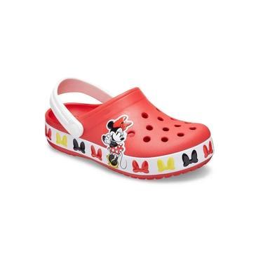 Sandália Infantil Crocs Disney Minnie Mouse