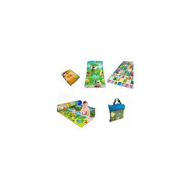Imagem de Tapete Grande Térmico Tatame Infantil Educativo Para Bebê Duplo Atividade 180x120 Dupla Face Impermeavel