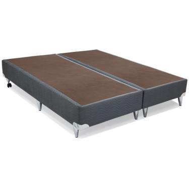 7402b12d1 Base Box Super King Size Camurça I Cinza