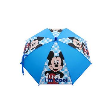 Guarda Chuva Azul Mickey - Disney