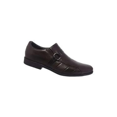 Sapato Social Masculino Ferracini Duomo 3015-1500 H Fume