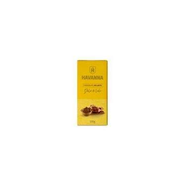 Barra de Chocolate Ao Leite Havanna c/ Recheio Doce de Leite 100g