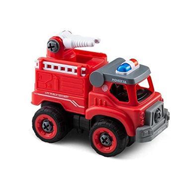 Imagem de City Machine Multikids Caminhão de Bombeiros Esguicho +3 Anos - BR1085